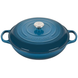 Le+Creuset+5+Qt.+Signature+Cast+Iron+Braiser