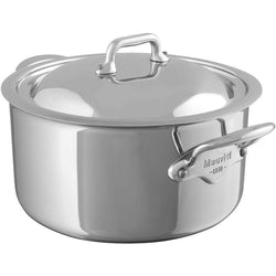 Mauviel+Stockpots+%26+Soup+Pots+1.8+Qt.+Mauviel+M%27Cook+Stewpan+with+Lid+JL-Hufford