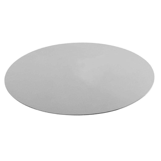 "Mauviel Wine, Bar & Ice Tools 3.9"" Mauviel M'30 Brushed Stainless Steel Charger Plate JL-Hufford"