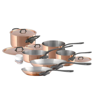 Mauviel Cookware Sets Mauviel M'150c 10-Piece Copper Cookware Set JL-Hufford