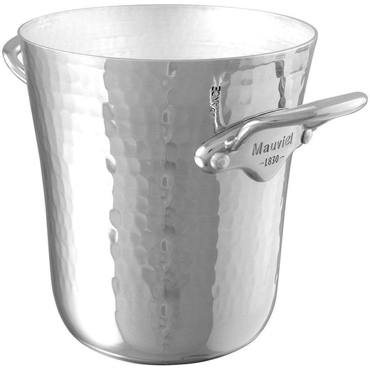 "Mauviel Wine, Bar & Ice Tools Mauviel M'30 Hammered Aluminum Ice Bucket - 5.13"" JL-Hufford"