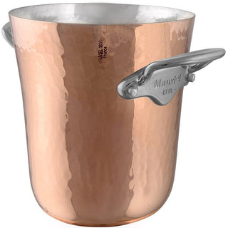 "Mauviel Wine, Bar & Ice Tools Mauviel M'30 Hammered Copper Ice Bucket - 5.13"" JL-Hufford"