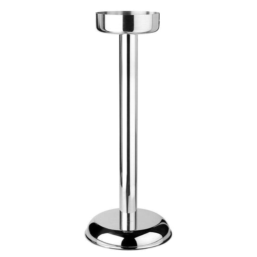 "Mauviel Wine, Bar & Ice Tools Mauviel M'30 Stainless Steel Champagne Bucket Stand - 8"" JL-Hufford"