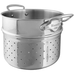 Mauviel+Colanders+%26+Strainers+Mauviel+M%27Cook+Pasta+Insert+-+9.5%22+JL-Hufford