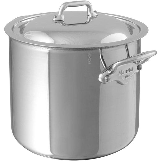 Mauviel Stockpots & Soup Pots Mauviel M'Cook Stockpot with Lid - 9.9qt. JL-Hufford
