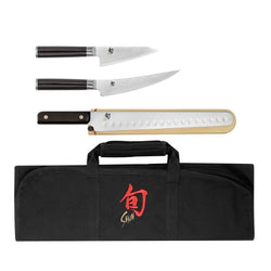 Shun+BBQ+%26+Outdoor+Shun+Classic+4+Piece+BBQ+Knife+Set+JL-Hufford