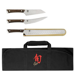 Shun+BBQ+%26+Outdoor+Shun+Kanso+4+Piece+BBQ+Knife+Set+JL-Hufford