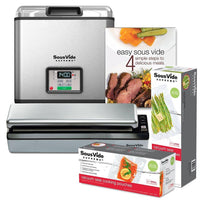SousVide Supreme Sous Vide SousVide Supreme 11-Liter Water Oven System - Brushed Stainless Steel JL-Hufford