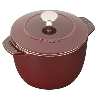 Staub Dutch Ovens and Braisers Grenadine Staub Cast Iron 1.5-qt Petite French Oven JL-Hufford