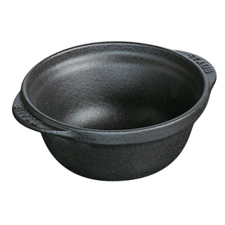 Staub Cooking and Serving Utensils Staub Cast Iron 8-oz Mini Bowl - Matte Black JL-Hufford