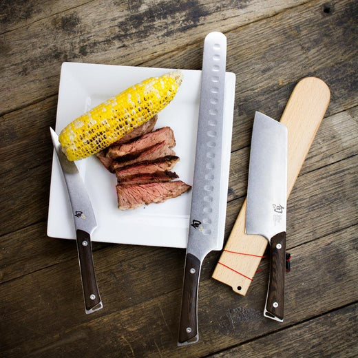 Shun Kanso 4 Piece BBQ Knife Set