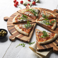 TeakHaus Cutting Boards Proteak Antipasto and Pizza Serving Platter JL-Hufford