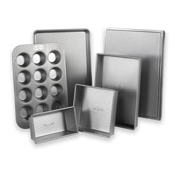 USA+Pan+Bakeware+Sets+USA+PAN+-+6-Piece+Bakeware+Set+JL-Hufford