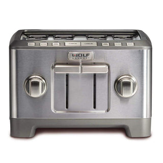 Wolf Gourmet Toasters & Ovens Stainless Knobs Wolf Gourmet 4-slice Toaster JL-Hufford