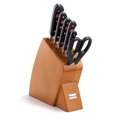 Wusthof Knife Sets Cherry Wusthof Classic 7-piece Mobile Knife Block Set JL-Hufford