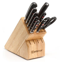 Wusthof Knife Sets Wusthof Classic 10-piece Knife Block Set - Beechwood JL-Hufford