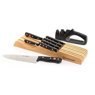 Wusthof Knife Sets Wusthof Gourmet 8-piece In-Drawer Knife Tray Set JL-Hufford