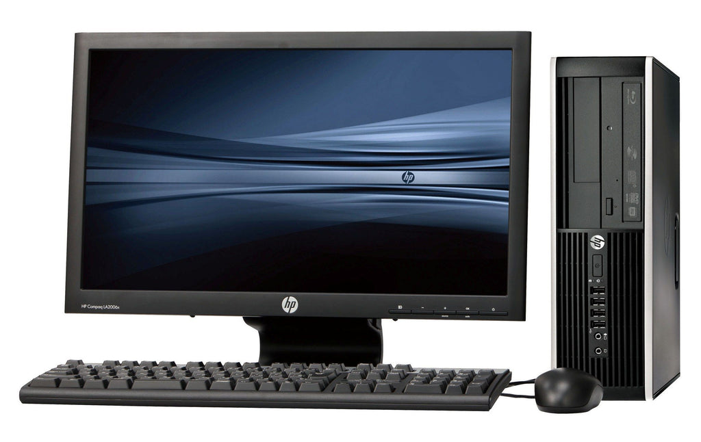 "Refurbished HP Compaq 8200 Pro Desktop, Intel Core i3 2nd Gen, 4GB RAM, 500GB HDD, 18.5"" Screen Win 7 Pro - ETECHBAZAAR"