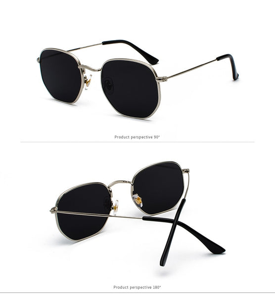 Square Hexagon Sunglasses