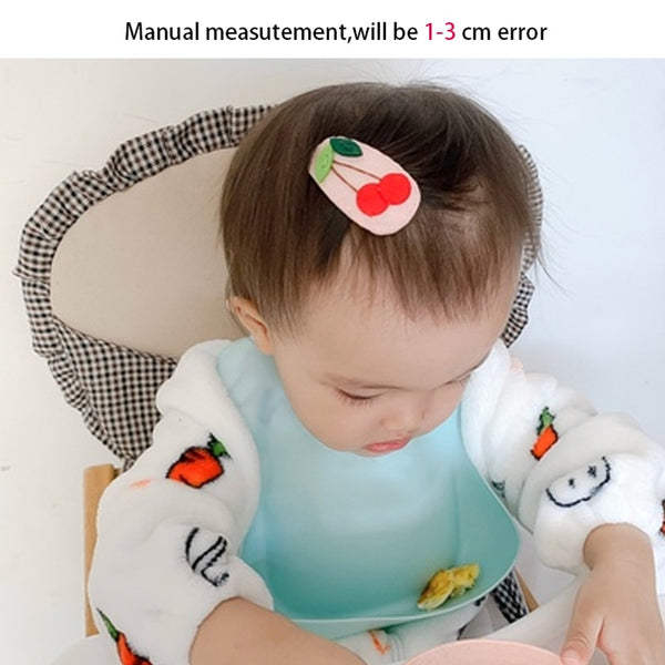 Waterproof Solid Infant Bib