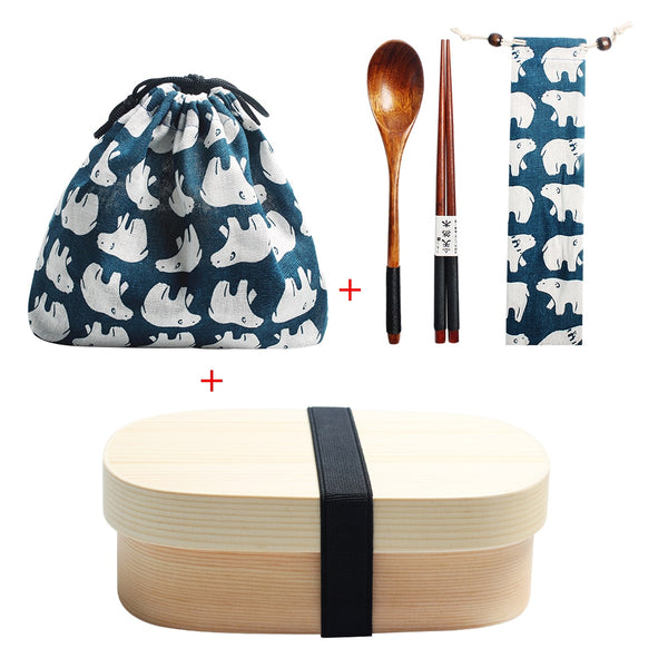 Bento Box Travel Set