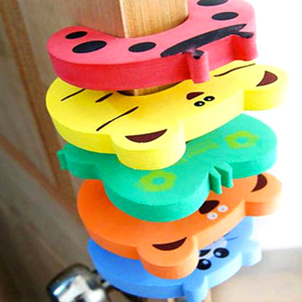 Cute Animal Baby Safety Door Stopper Clip