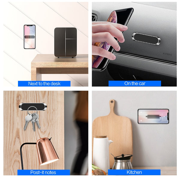 Magnetic Mini Strip Phone Holder