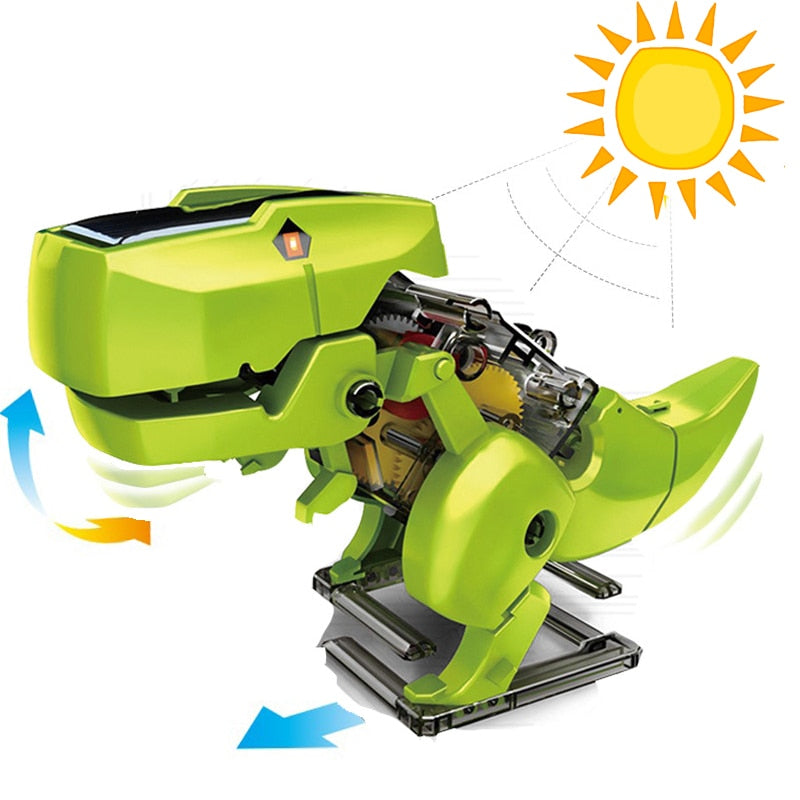 Solar Powered Dino Roboto