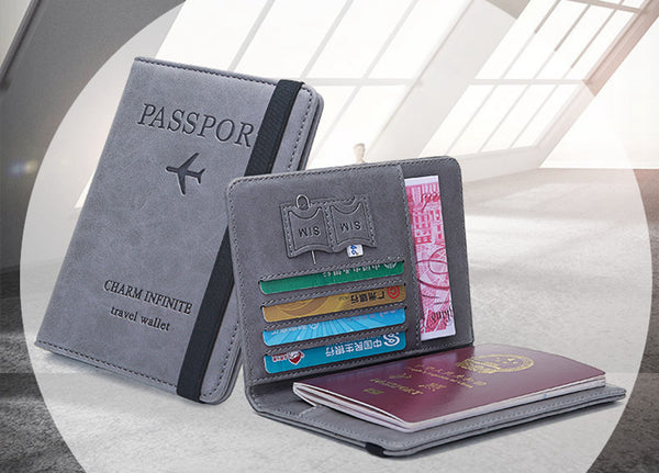 Vintage Business Passport Covers Holder