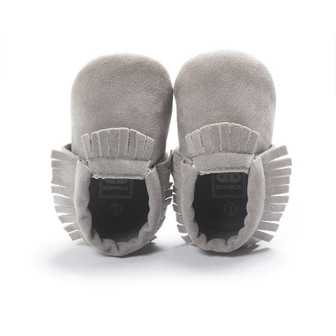 PU Leather Baby Moccasins Soft Shoes
