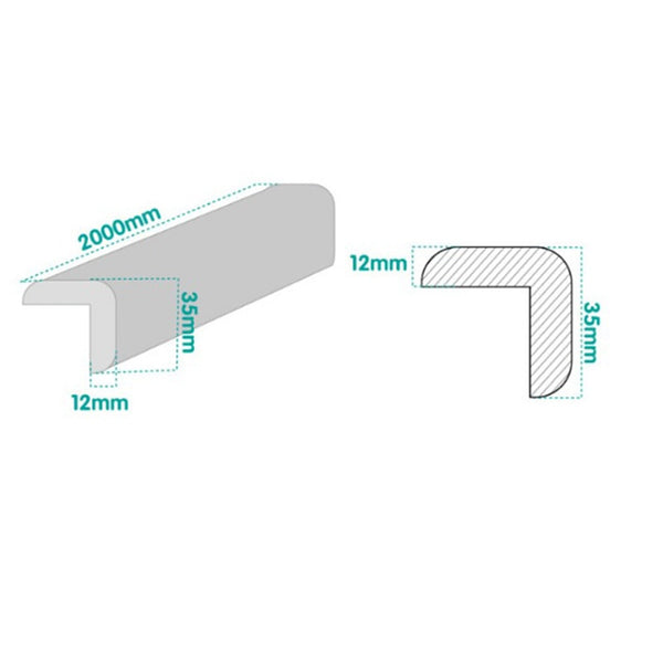 Furniture Corners Angle Protection Tape