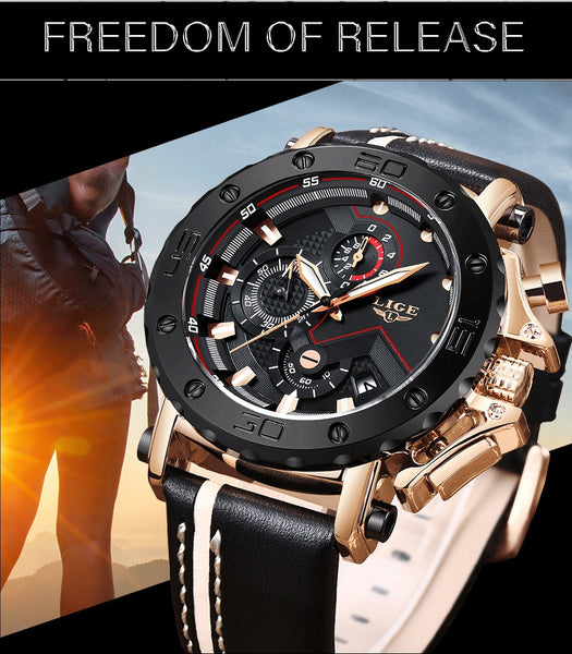 Luxury Big Dial Military Quartz Watch