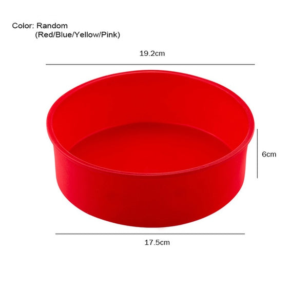 Silicone Cake Round Shape 3D Mold