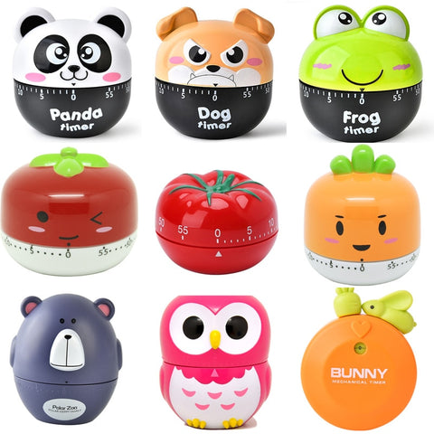 Cartoon Animal Vegetable Shape Timer