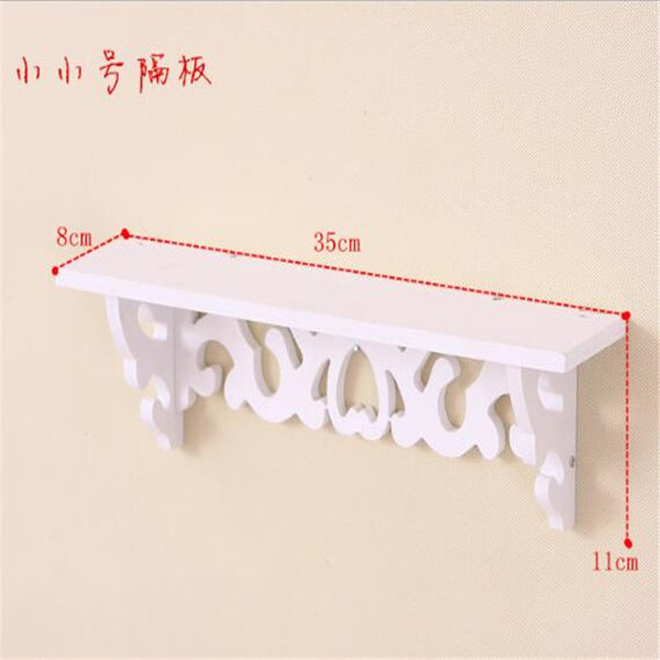 White Wall Hanging Shelf