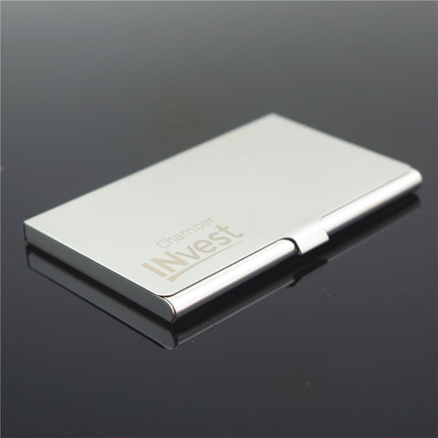 Metal Silver Business Card Holders