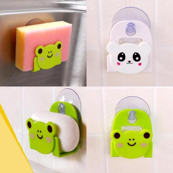 Cartoon Dish Sponge Holder