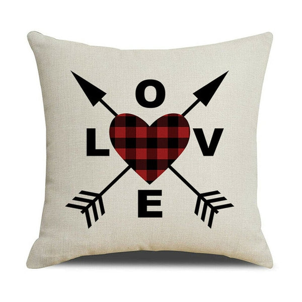 Printed Square Pillow Case Cover