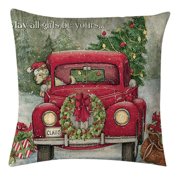 Christmas Pattern Pillow Case Cover