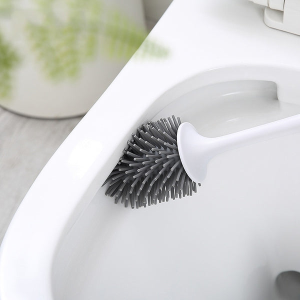 Rubber Head Toilet Brush