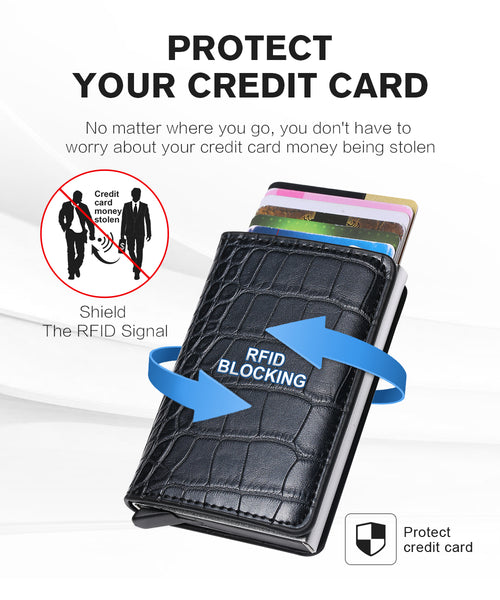 Smart Wallet Business Card Holder