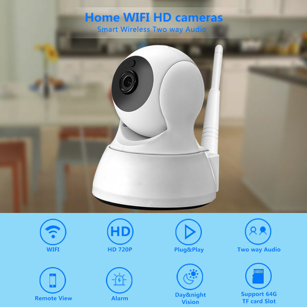 Wireless Home Security IP Camera