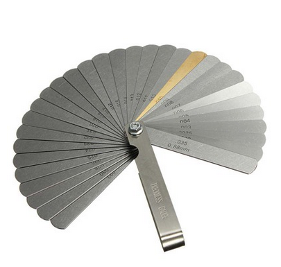 Foldable Feeler Brass Blade