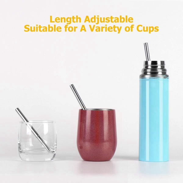 Portable Reusable Drinking Straws