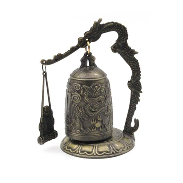 Vintage Dragon Bell Hang Buddhist Bell Ornament