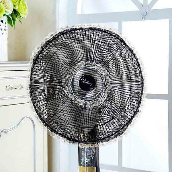 Transparent Electric Fan Circle Dust Cover