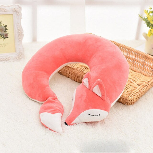 Cute Fox Neck Pillow