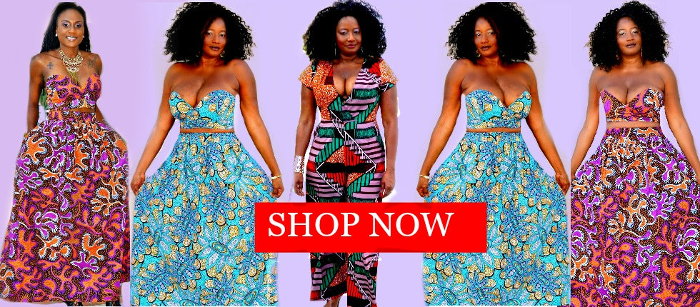 African inspired clothing