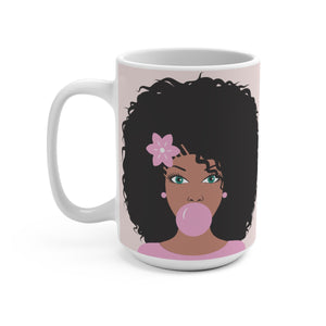 Perfect Pink Bubble Gum Coffee Mug