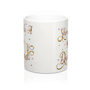Shine Like A Diamond Designer's  Coffee Mug